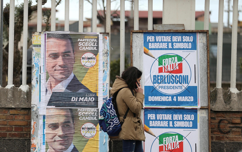 На выборах в Италии лидируют популисты и крайне правые