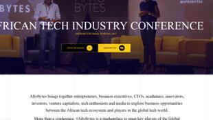 Site internet d'Afrobytes.