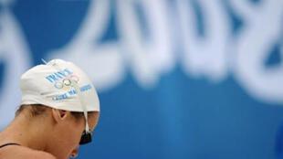 La détresse de Laure Manaudou après sa 7e place sur 100m dos.