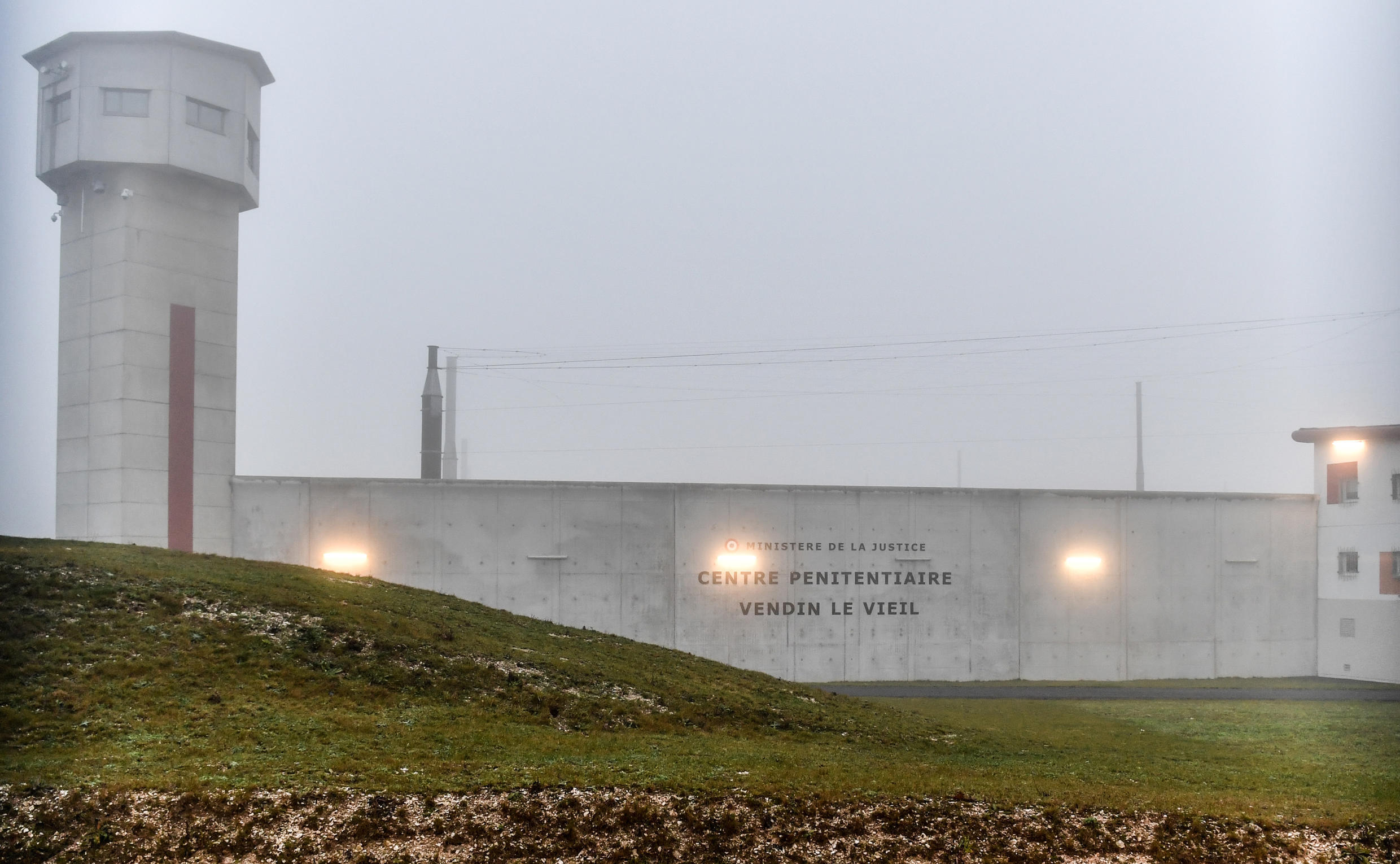 The Vendin-le-Vieil prison, one of four that Council of Europe's Committee for the Prevention of Torture visited to produce its critical report.