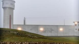 Le centre pénitentiaire de Vendin-le-Vieil dans le Pas-de-Calais (Hauts-de-France).