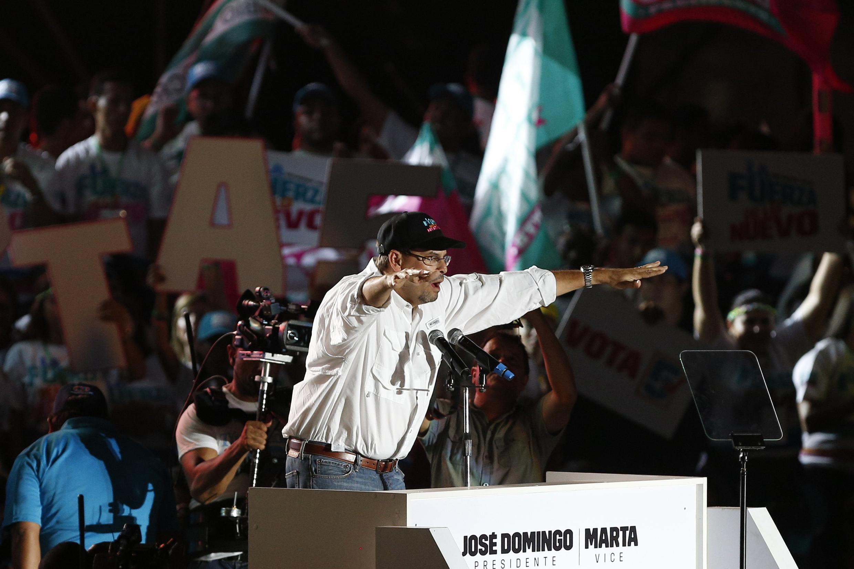 José Domingo Arias, el candidato oficialista, no tiene la victoria asegurada a pesar del balance positivo de Ricardo Martinelli.