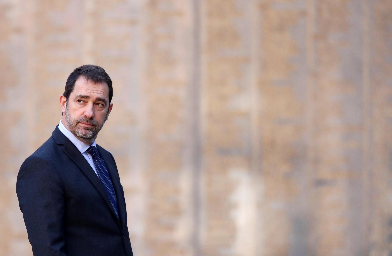 Le ministre français de l'Intérieur, Christophe Castaner, à l'origine de la circulaire, vu ici en mars 2019 à Paris (image d'illustration).