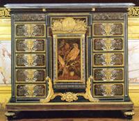 Cabinet au perroquet