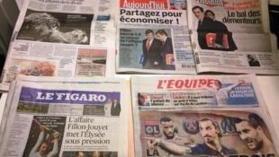 Diários franceses 11/11/2014