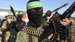 اعضای گروه عزالدین قسام شاخۀ نظامی گروه حماس