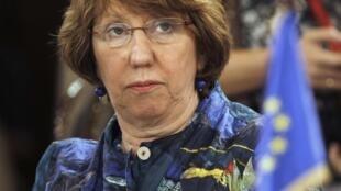 Après les condamnations et les appels à la retenue de Catherine Ashton (photo), l'UE se prépare à sanctionner l'Egypte.