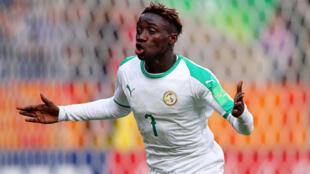 Le Sénégalais Amadou Sagna a marqué le but le plus rapide de l'histoire de la Coupe du monde des moins de 20 ans, 10 secondes après le coup d'envoi, ce 23 mai 2019 face à Tahiti.