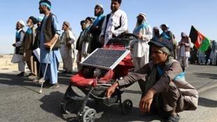 La marche pour la paix en Afghanistan, le 8 juin dernier.