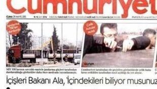 ខែឧសភា ២០១៥៖កាសែតប្រចាំថ្ងៃតួកគី Cumhuriyet ចុះផ្សាយថា ផ្នែកចារកិច្ចតួកគីផ្តល់អាវុធអោយក្រុមឧទ្ទាមនៅស៊ីរី