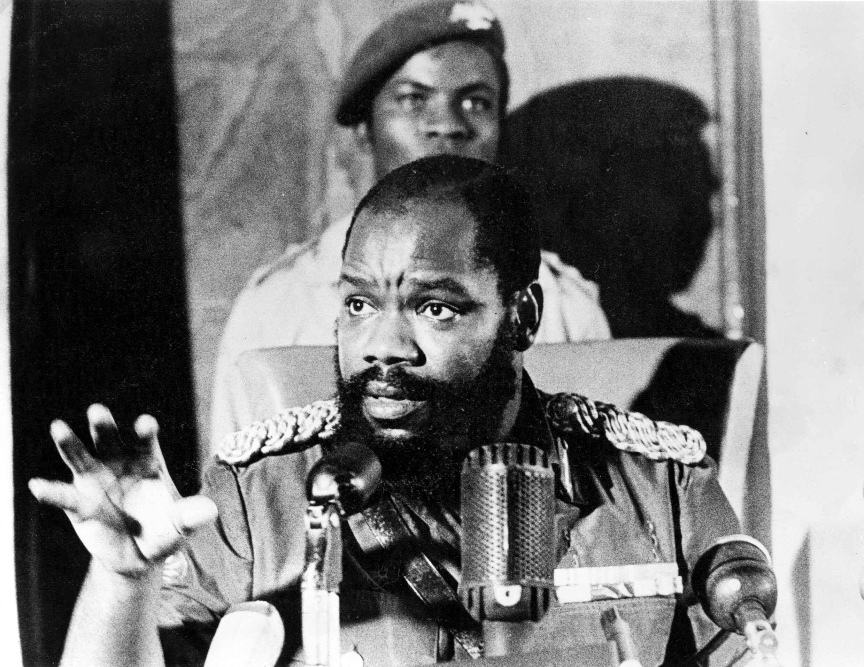 Colonel Emeka Odumegwu-Ojukwu.