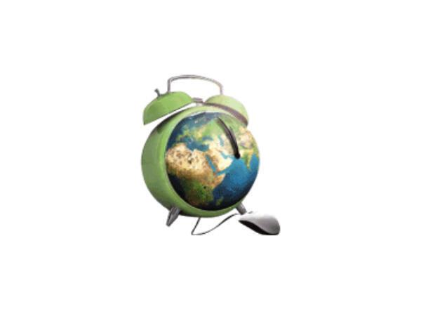 24 h sur la Terre du 12 octobre 12h au 13 octobre 12h.
