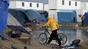 'The Jungle' in Calais, France