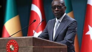 Le président du Bénin, Patrice Talon, lors d'un déplacement en Turquie le 6 septembre 2018.