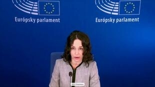 斯洛伐克籍的欧洲议会议员莱克斯曼(Miriam Lexmann)