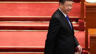 中国国家主席习近平3月3日出席中国全国政协会议开幕式