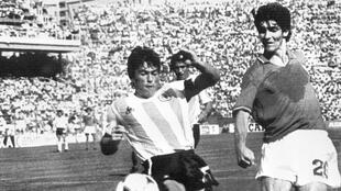 Italian striker Paolo Rossi was the top scorer at the 1982 World Cup which Italy won.