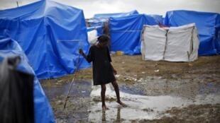 El campo de refugiados de la Cité du Soleil en Puerto Príncipe.