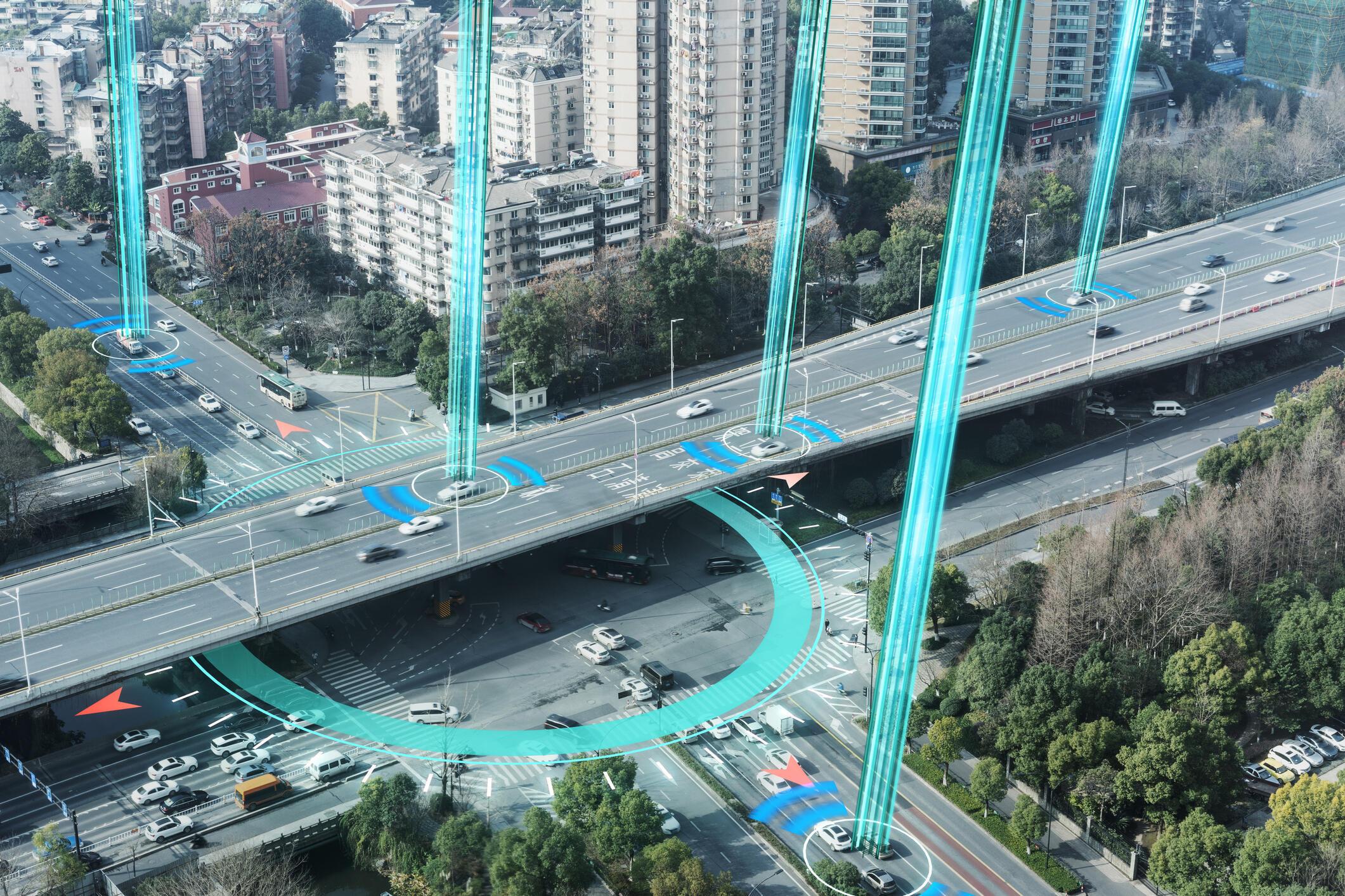 Ville virtuelle - environnement - vie - citoyens - GettyImages-1210800392