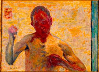 """""""L'autoportrait en boxeur"""" de Pierre Bonnard"""