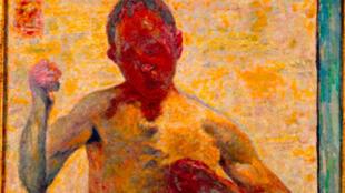 """""""L'autoportrait en boxeur"""" de Pierre Bonnard."""