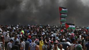 加沙巴以冲突2018年5月14日