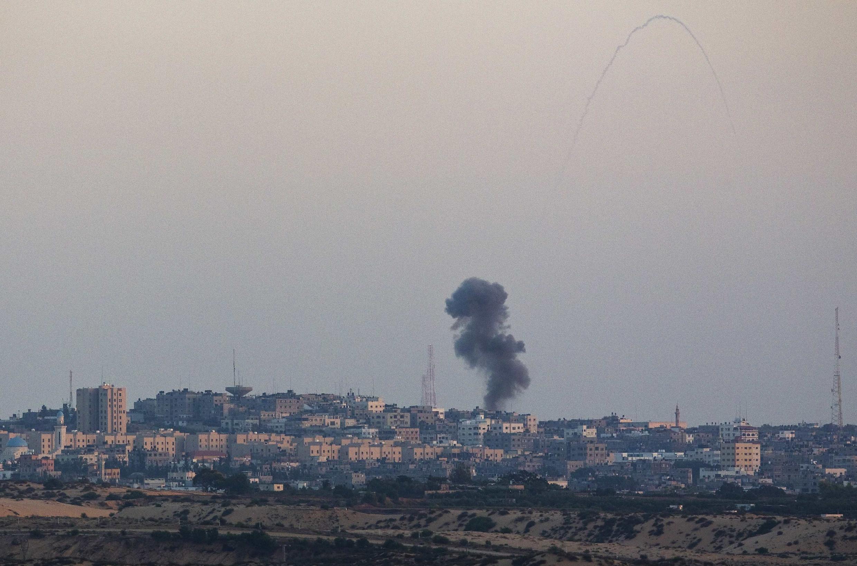 Một cảnh Gaza sau oanh kích của Israel. BNgười Palestine hy vọng  ngưng bắn được tôn trọng ngày 17/07/2014 sẽ giảm tử vong.