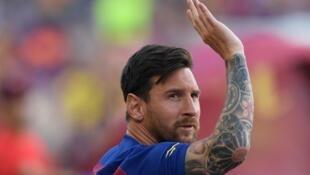Lionel Messi vira a página do Barcelona.