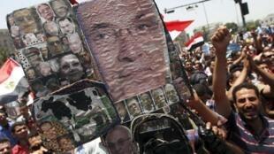 تظاهرات در میدان التحریر قاهره - ٥ ژوئن ٢٠١٢