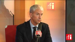 Franck Riester, Député Les Républicains de Seine-et-Marne et co-président du groupe «Les Constructifs».