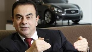 Renault boss Carlos Ghosn