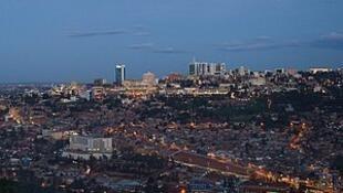 盧旺達基加利遠眺