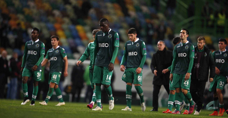 O Sporting Clube de Portugal foi eliminado na Liga Europa pelos germânicos do Wolfsburgo.