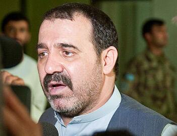 President Hamid Karzai's half-brother, Ahmed Wali Karzai