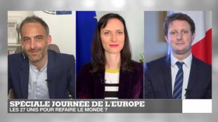 ICI L'EUROPE - Fête de l'Europe - Raphaël Glucksmann - Mariya Gabriel - Clément Beaune