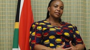 South African Minister of International Relations and Cooperation Maite Nkoane Mashebane