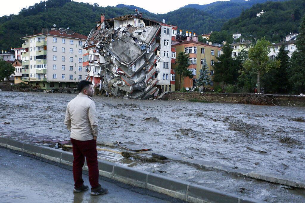 Turquia enchentes