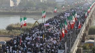 Manifestations en Iran, le 3 janvier 2018.