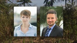 Zaida Catalan et Michael Sharp, deux experts de l'ONU, ont été tués en RDC en 2017 alors qu'ils enquêtaient sur des tueries de masse.