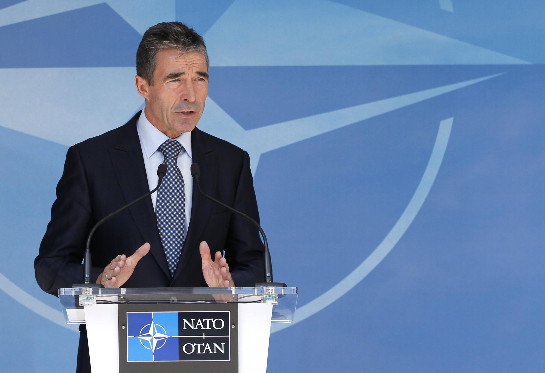 Katibu mkuu wa NATO Anders Fogh Rasmussen