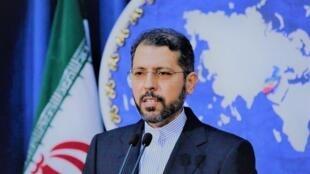 سعید خطیب زاده سخنگوی وزارت امور خارجۀ جمهوری اسلامی ایران.