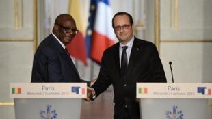 François Hollande na Ibrahim Boubacar Keïta wana uhusiano imara na uhusiano binafsi.