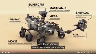 ¿Cómo es el rover Perseverance?