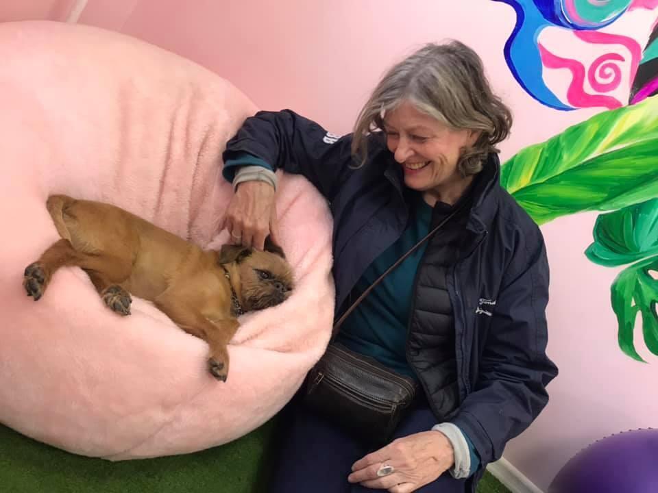 Представительница Фонда помощи животным Брижит Олуа в Минске