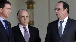 French President François Hollande chaired a meeting of France's Defence Council.