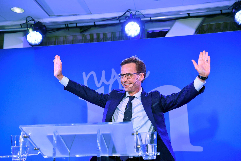 Лидер правого альянса и Умеренной коалиционной партии (Модератерна) Ульф Кристерссон