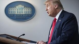 Donald Trump a annoncé qu'il annulait la convention républicaine en août prévue en Floride.