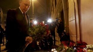 Shugaban Rasha Vladimir Putin ya ajiye firanni a wurin da aka kai harin St. Petersburg