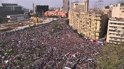 Hơn hai trăm ngàn người Ai Cập hôm nay 1/2/11 tập trung về quảng trường Tahir ở trung tâm thủ đô Cairo để đòi Tổng thống Hosni Moubarak phải từ chức.