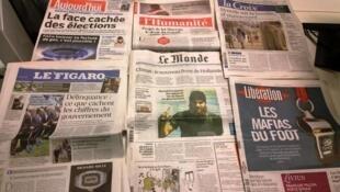Diários franceses 20.11.2014
